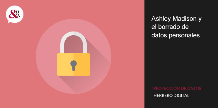 Ashley Madison y la protección de datos personales