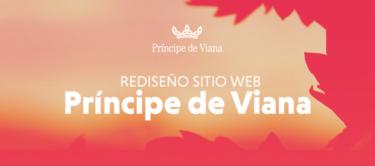 Rediseño del sitio web de Bodegas Príncipe de Viana