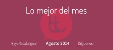 Lo mejor del mes de agosto en Desarrollo Web y Marketing Online