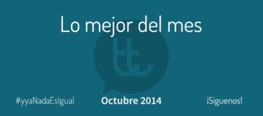 Lo mejor del mes de octubre en Desarrollo Web y Marketing Online