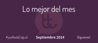 Lo mejor del mes de septiembre en Desarrollo Web y Marketing Online