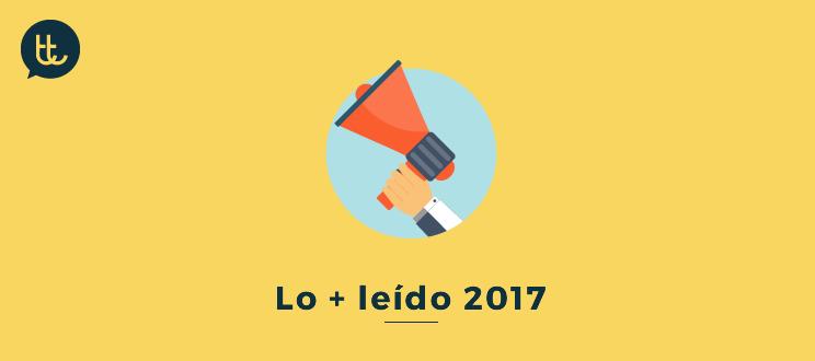 Nuestros post más populares del año 2017