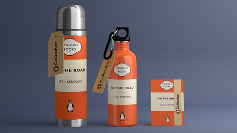 penguin book branding