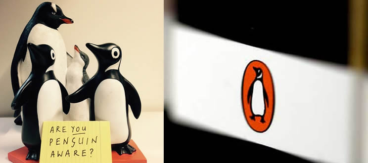 El pingüino como mascota corporativa. Penguin Books