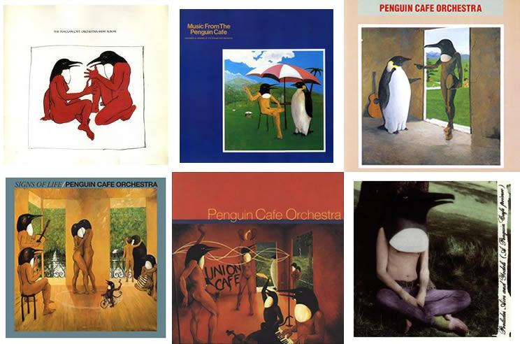 Portada discos Penguin Cafe Orchestra