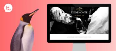 Nueva presencia digital de Bodegas Piedemonte