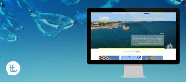 Nuevo sitio web de Apartamentos Zubiri
